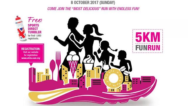 Atria Makan Fun Run 2017