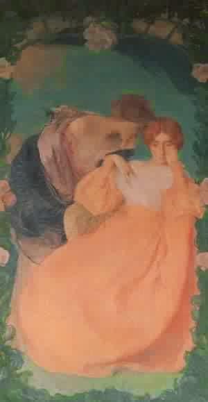 Contando um Segredo - Edmond Aman-Jean e suas principais pinturas  ~ Art Nouveau