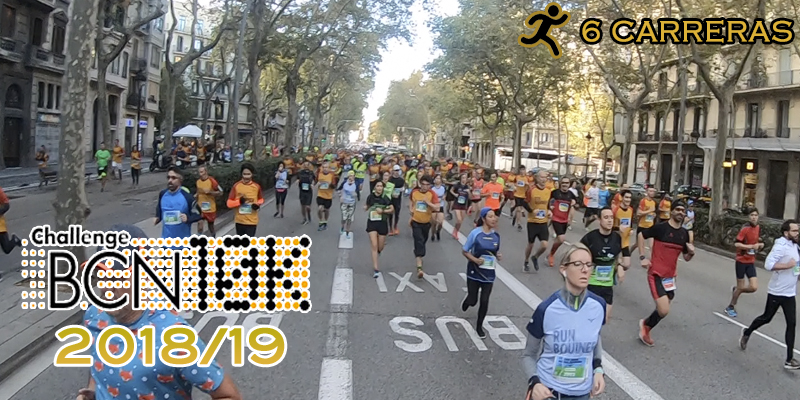 ChallengeBCN10K 2018/19 - 6 carreras