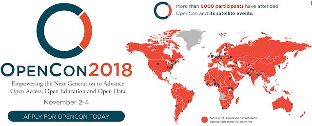 Cơ hội được tài trợ toàn phần/một phần dự OpenCon 2018 ở Toronto, Canada