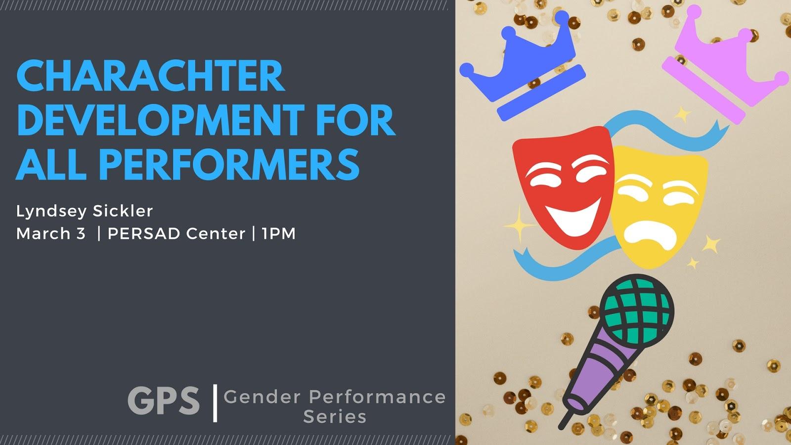 Gender in performance show strip