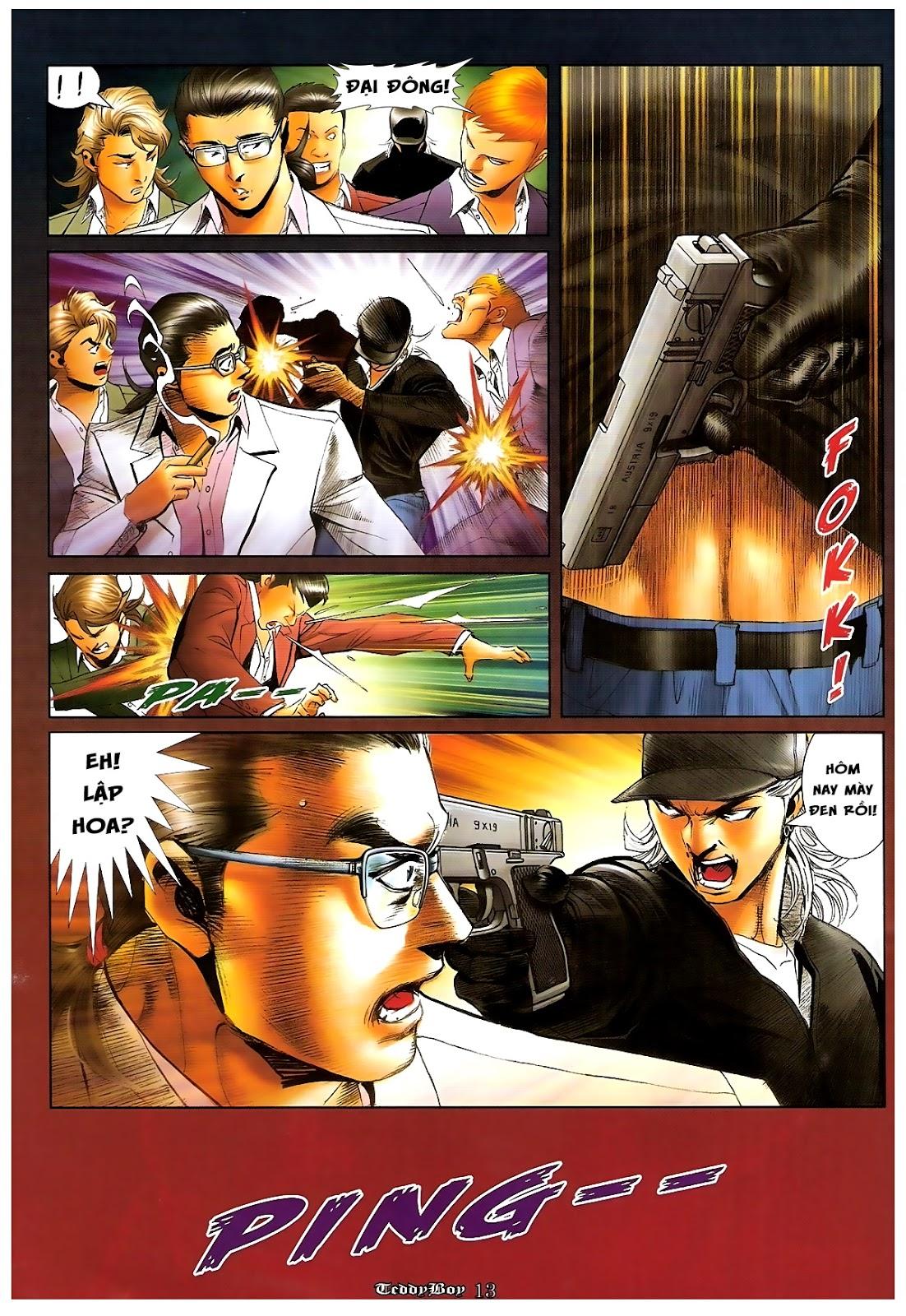 Người Trong Giang Hồ - Chapter 1206: Xúc Đại Đông - Pic 12