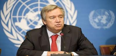الأمين العام للأمم المتحدة أنطونيو غوتيريس - أرشيفية