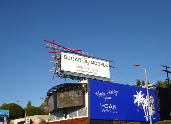 Sugar Models billboard