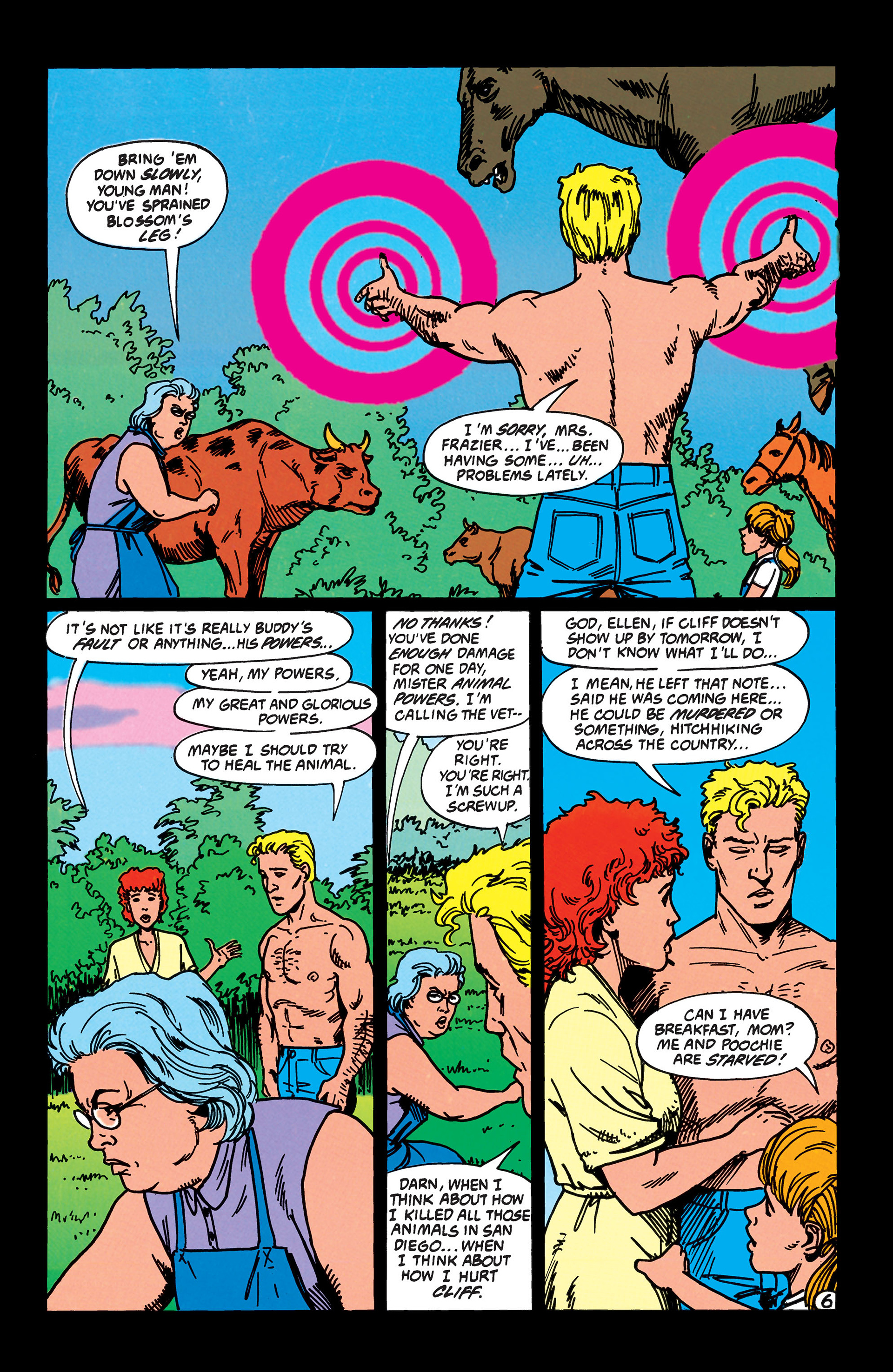 Read online Animal Man (1988) comic -  Issue #41 - 7