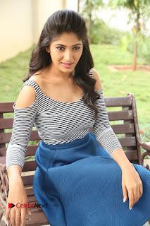 Telugu Actress Roshini Prakash Stills Short Dress at Saptagiri Express Release Press Meet  0181.JPG
