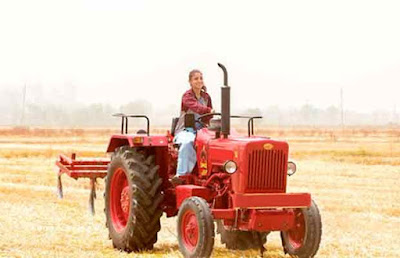 Sultan Star Anushka Sharma Driving Tractor