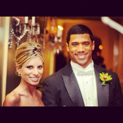 Russell Carrington Wilson and his girlfriend Ashton Meem