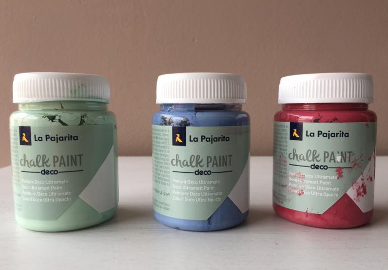 Pintar con chalk paint el blog de clementina - Pintar chalk paint ...