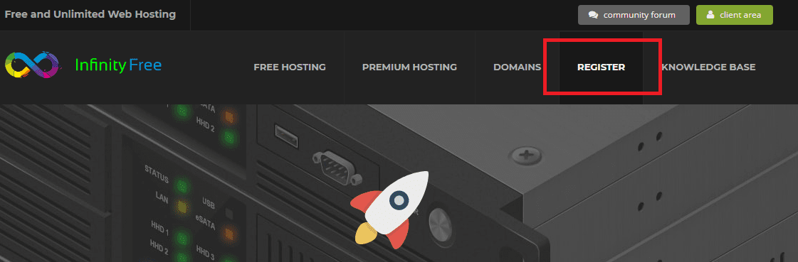 Cara Membuat Akun Register Di Hosting Gratis Infinityfree Net