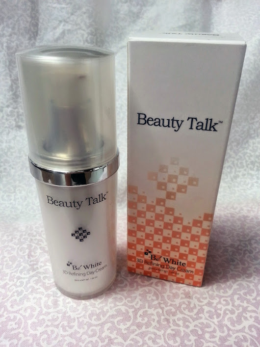 [Review] Beauty Talk 3D Refining Day Cream