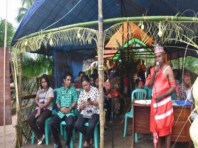 Masyarakat Adat Nata Resmikan Rumah Adat di Rebi