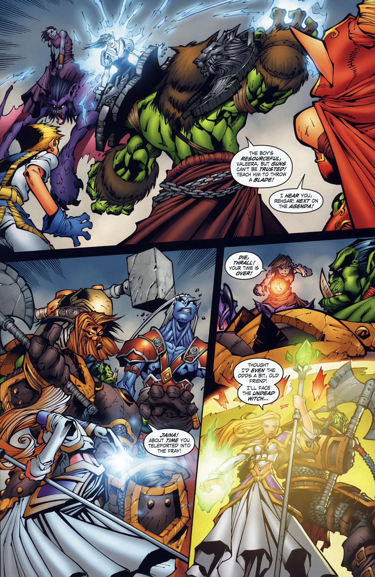 Read online World of Warcraft comic -  Issue #18 - 5