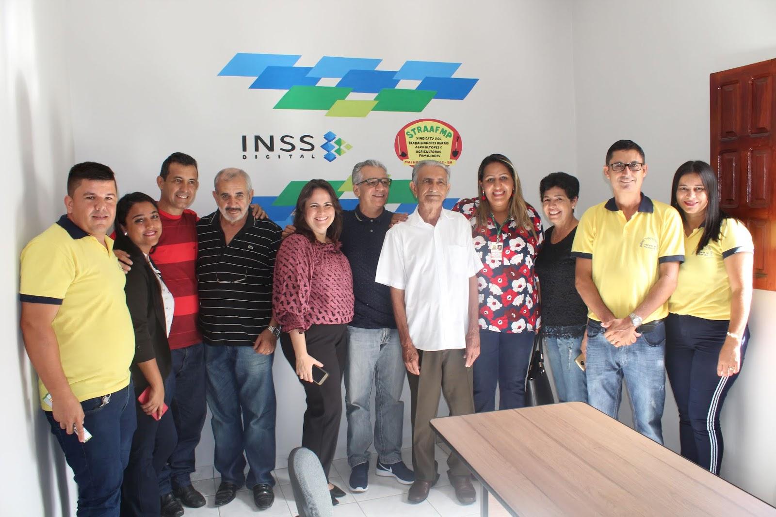 Sindicato dos Trabalhadores Rurais de Malhada de Pedras inaugura Posto de Atendimento Digital do INSS