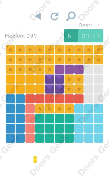 Cheats, Walkthrough for Blocks and Shapes Medium Level 299