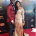 AMVCA2017: Actress Funke Akindele Bello and husband at the AMVCA2017 red carpet after collecting two awards[photos]