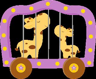 Clipart Circo de Niñas.
