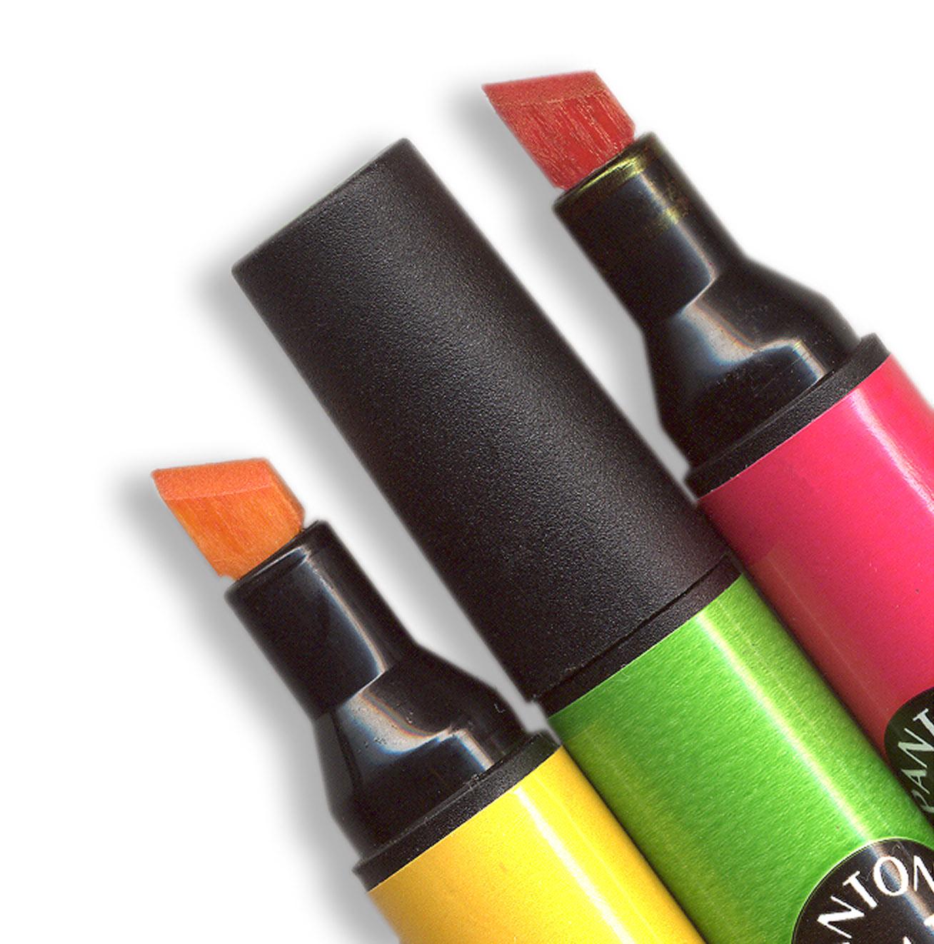 Kolorowe flamastry, czyli niewidzialne informacje prasowe