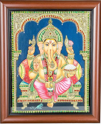 tanjore painting designs patterns