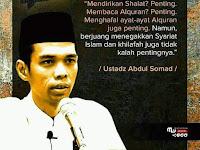 Kesaksian tulus adinda Ust.Muhammadun selaku sahabat dan murid Ust. Abdul Shomad, Lc. MA.