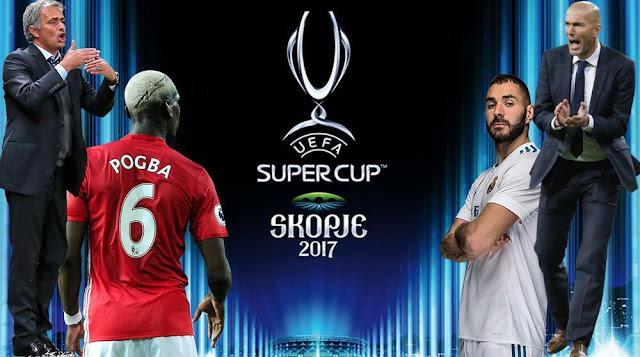 مقدونيا تستضيف كأس السوبر الأوروبي الليلة بين ريال مدريد ومانشستر يونايتد