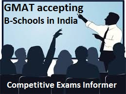GMAT accepting B-Schools in India