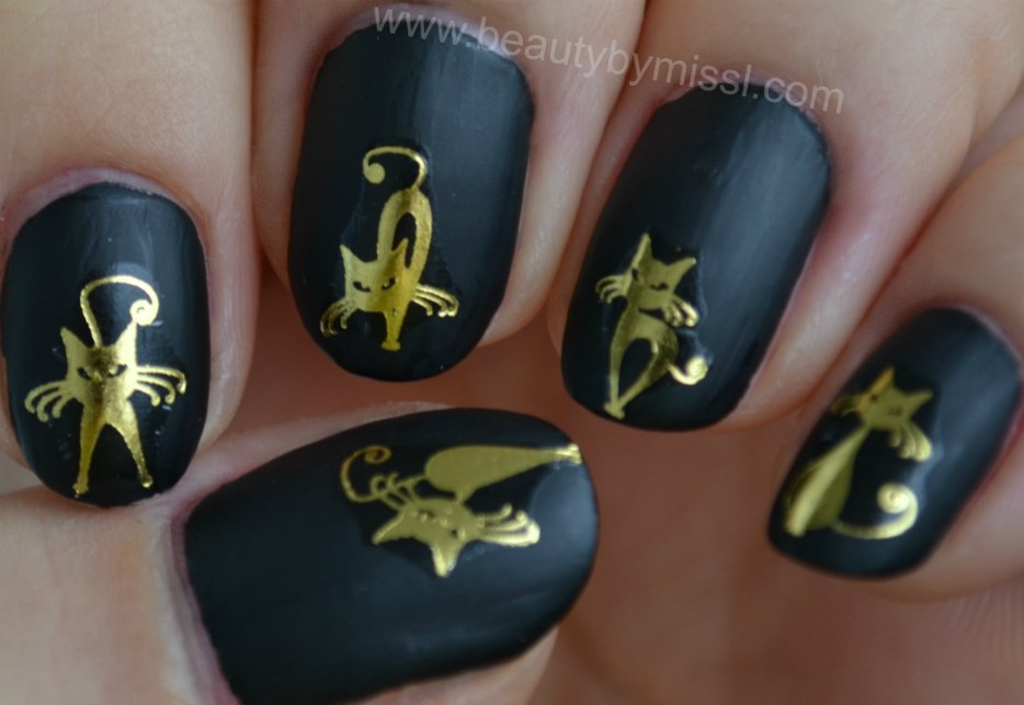manicure, nails, notd, nails of the day, Halloween manicure