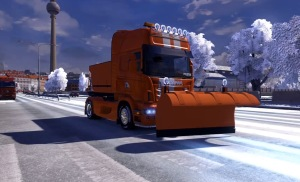 Scania Snow Plow