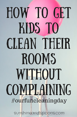 How to get kids to clean their rooms without complaining