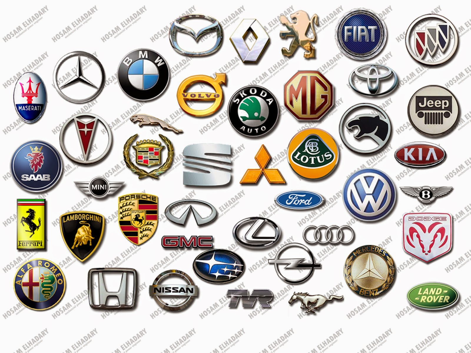 Expensive Cars Expensive Cars And Their Logos