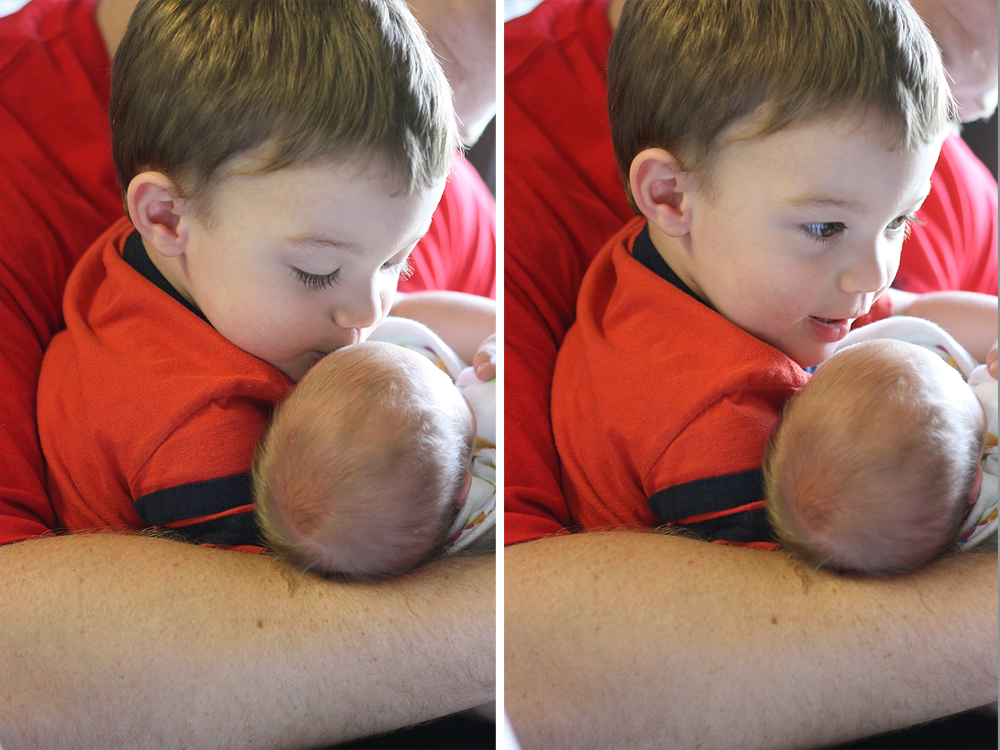Get Positioned And Aunt Manda Placed Paityn In Their Arms The Sight Of My Little Boy The Big Brother Holding And Kissing His Baby Sister