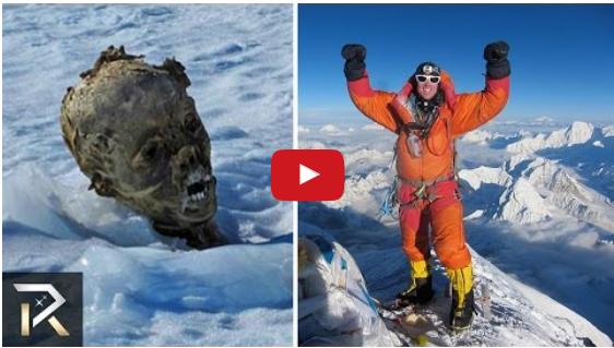 WATCH: Peopl... Man Frozen In Ice Alive