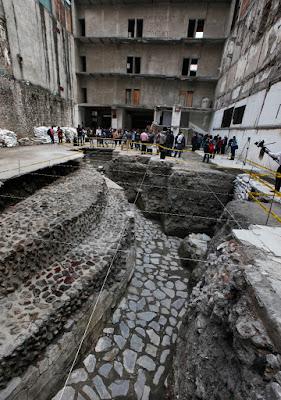 Μεξικό: Ανακάλυψαν ναό και αρχαίο γήπεδο Αζτέκων δίπλα σε ξενοδοχείο