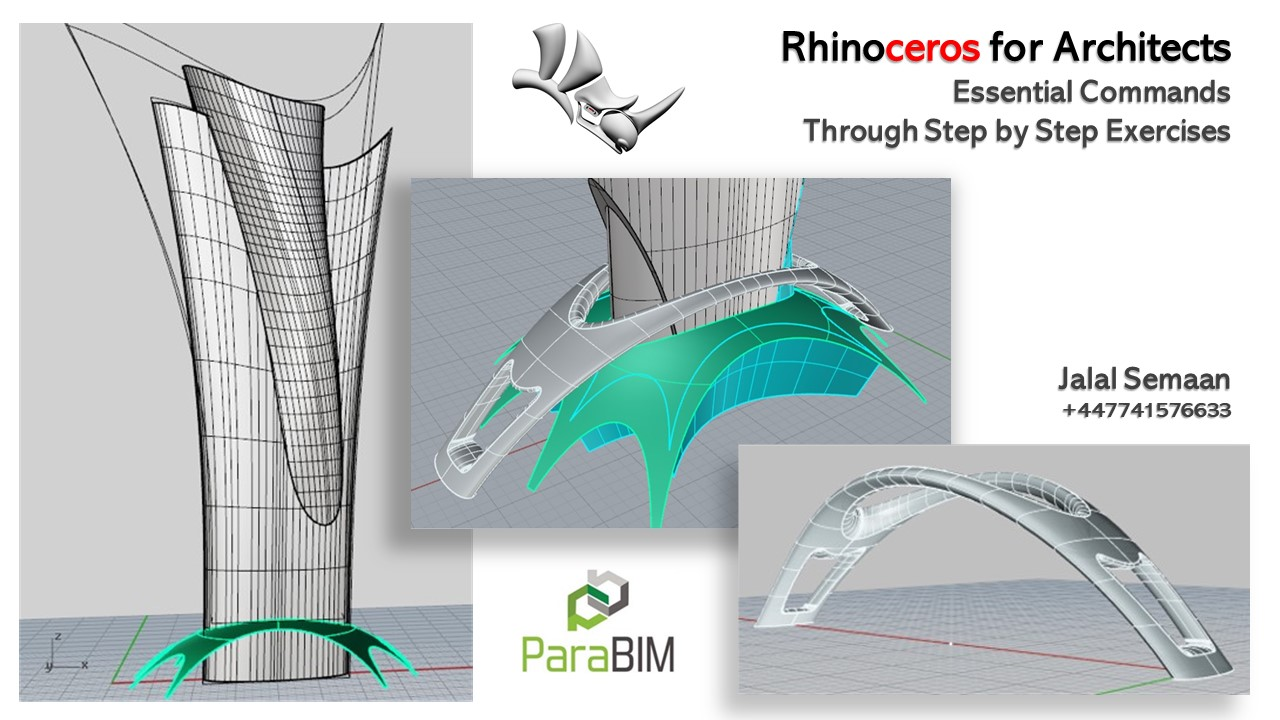 Rhinoceros Modelling Tutorial for Architects and Designers