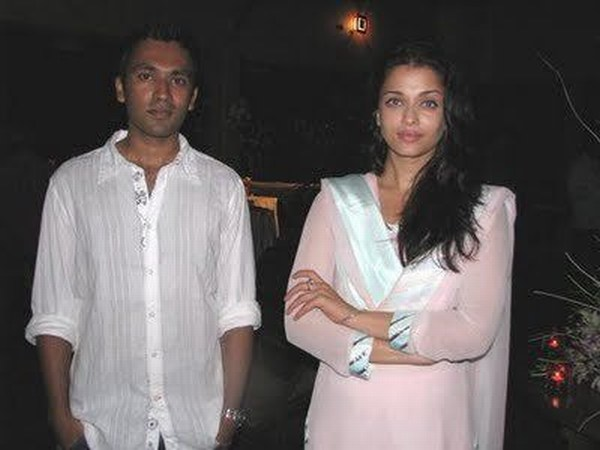 AishwaryA Rai With Brother Without makeup