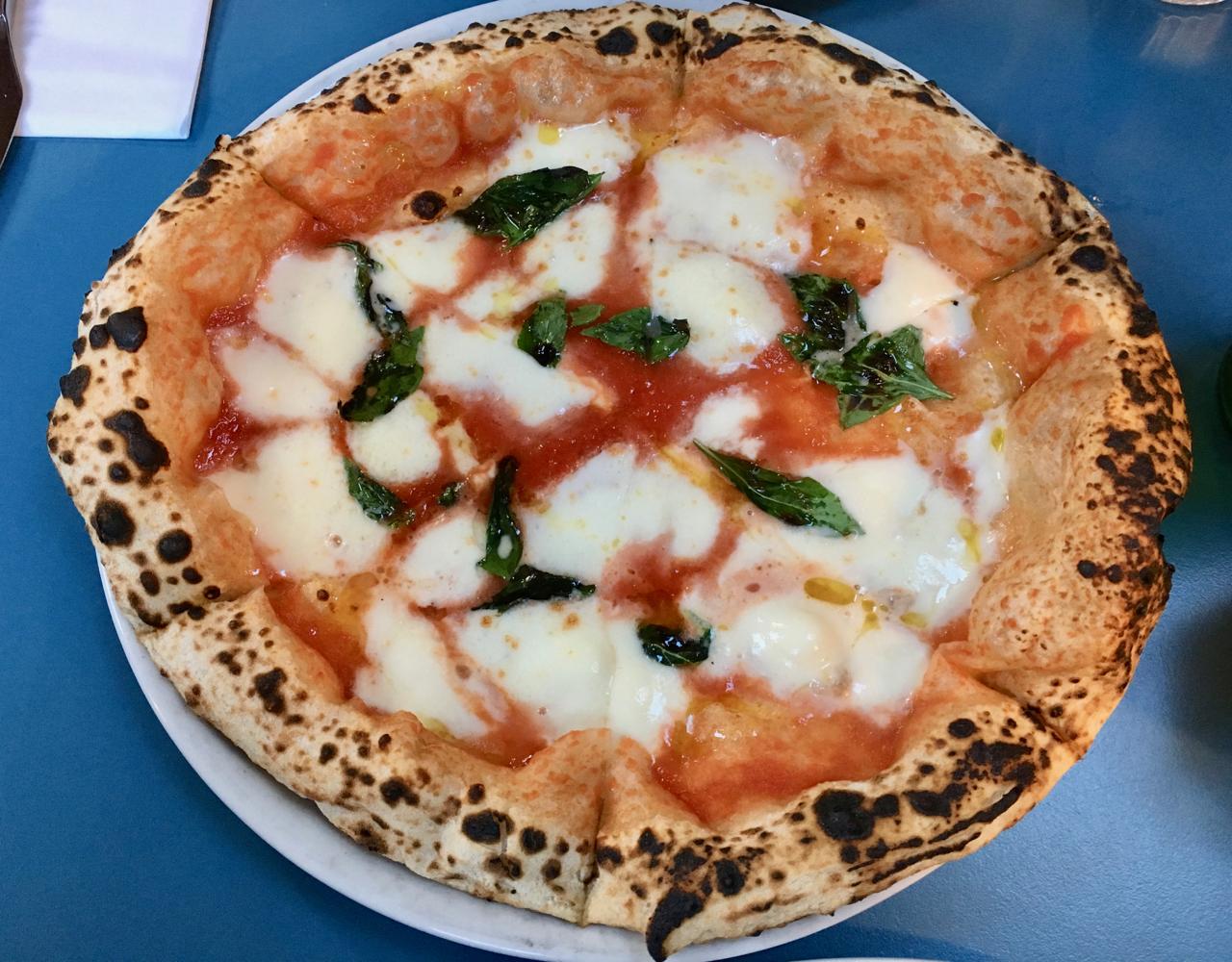 Best pizza in Bristol - Bertha's sourdough pizza and gelato