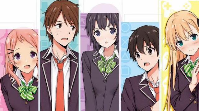 Gamers! - Daftar Anime Romance School Terbaik Sepanjang Masa