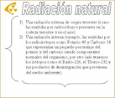 Radiaciones ionizantes 1