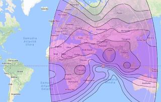 Satellite Beam Intelsat 20 68.5°E C Band