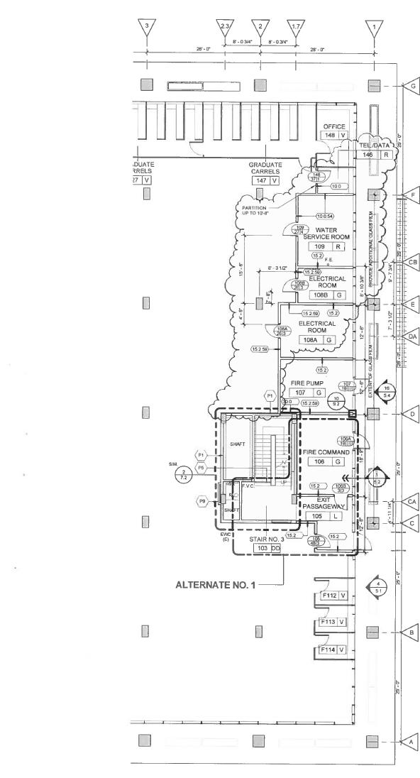 Howard-Tilton Memorial Library Build-back and Hazard