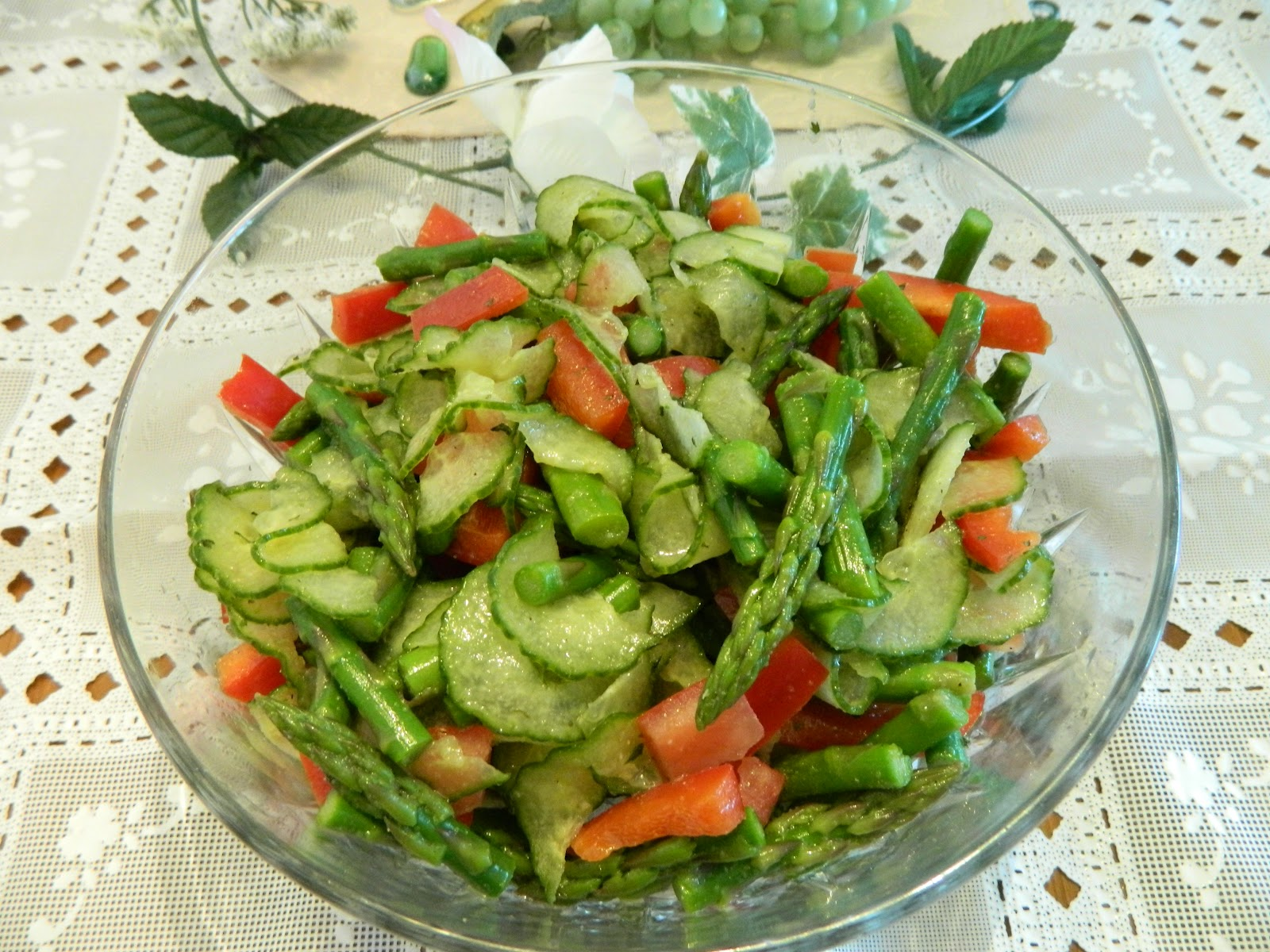Ginny S Low Carb Kitchen Marinated Asparagus And