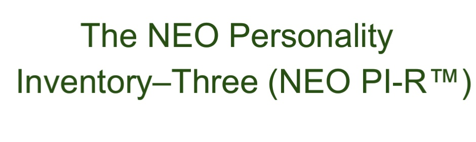 The NEO Personality Inventory in psychology