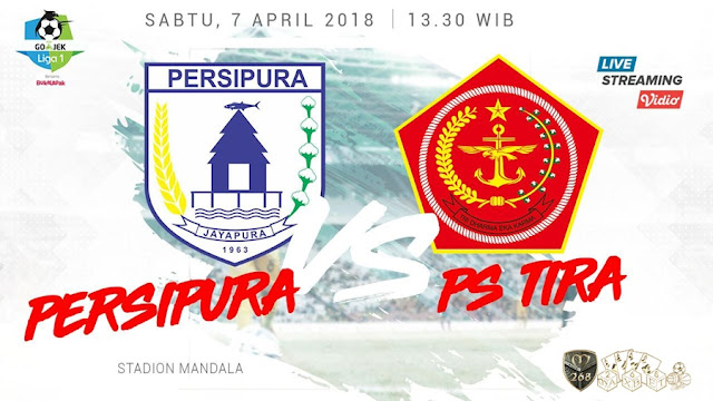 Prediksi Persipura Jayapura Vs PS Tira, Sabtu 07 April 2018 Pukul 13.30 WIB