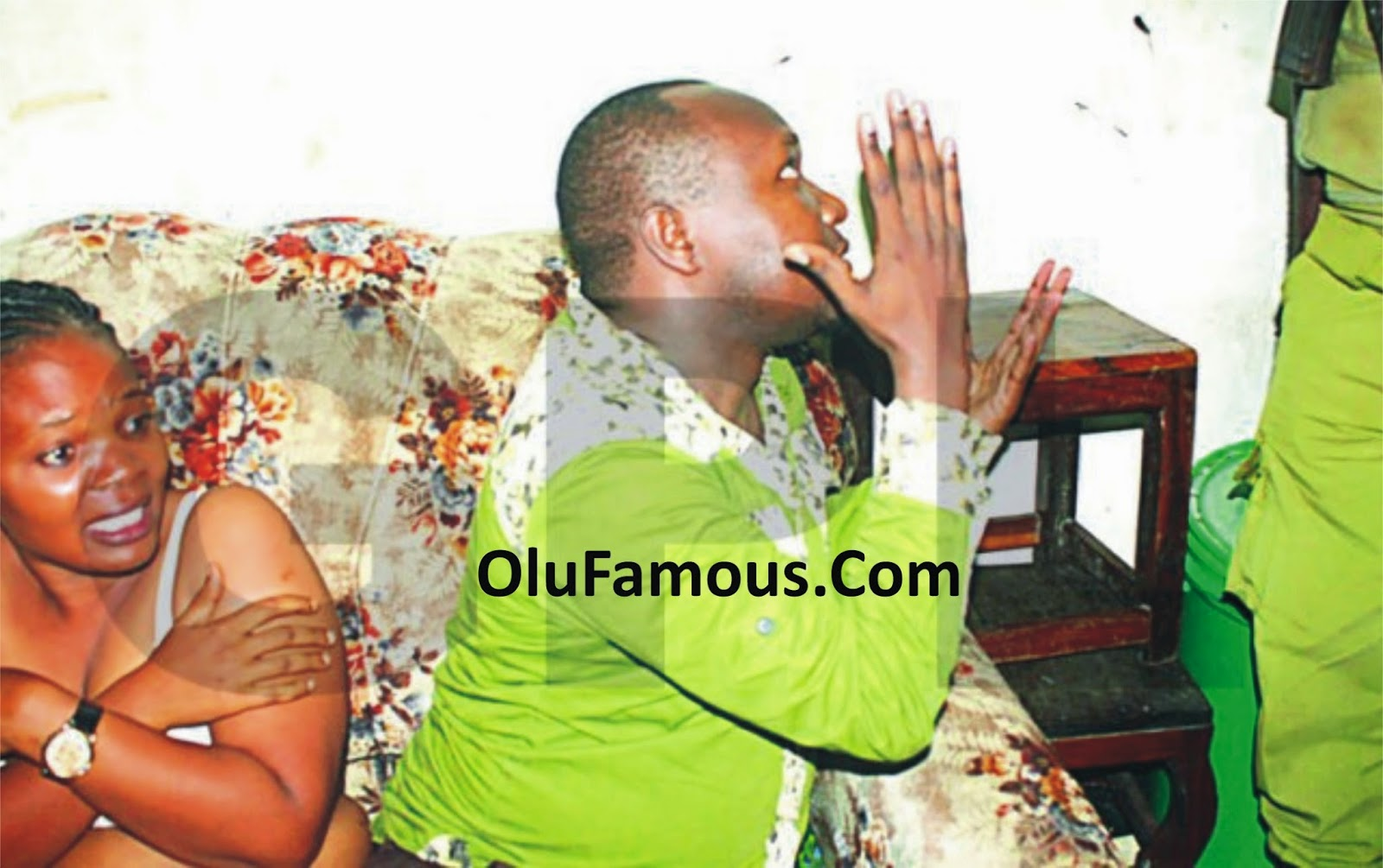 Pastor Caught Live With A Military Officer's Wife In His Bedroom [See Photo]