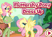 MLP Fluttershy Pony Dress Up juego