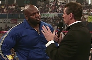WWF / WWE - In Your House -12 - It's time: vince McMahon interviewed Ahmed Johnson