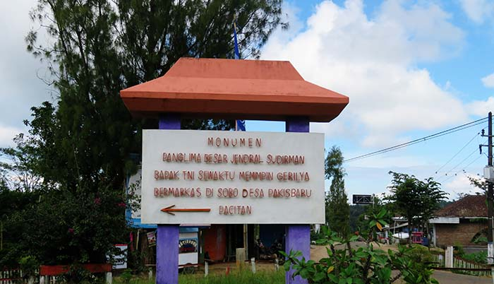 Menuju Kawasan Monumen Jenderal Sudirman