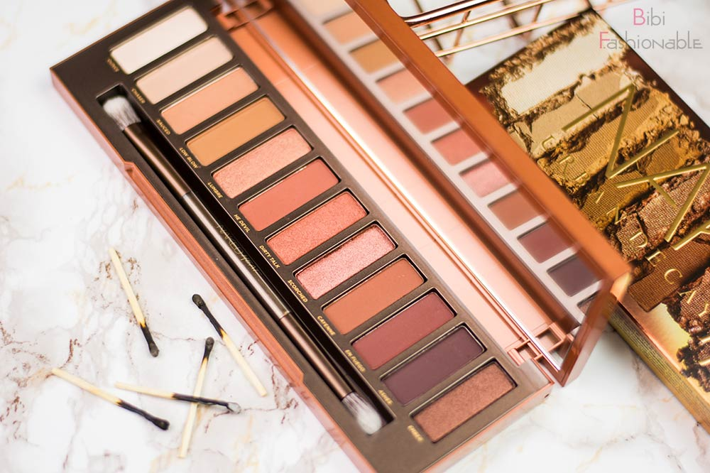 Urban Decay Naked Heat Palette offen