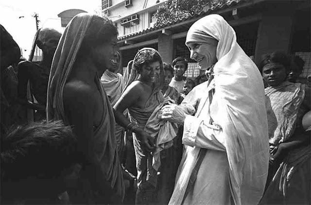 Phép lạ chữa lành kì diệu của Mẹ Têrêsa