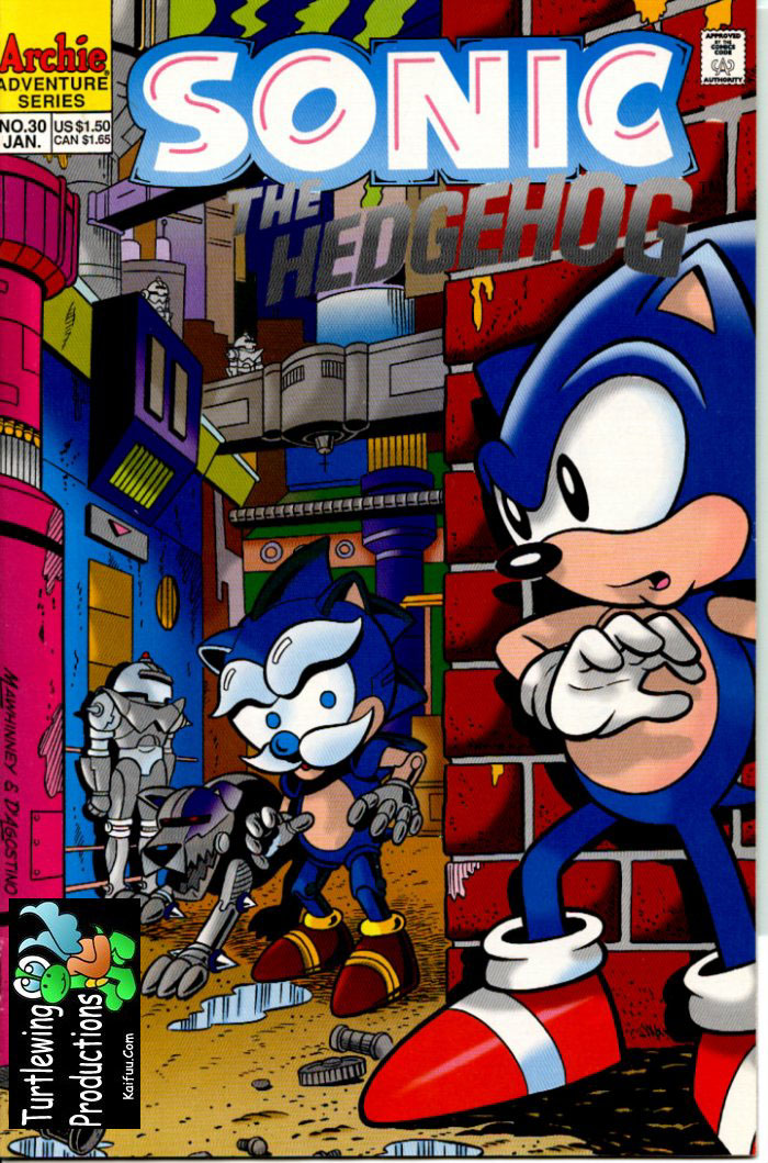 Read online Sonic The Hedgehog comic -  Issue #30 - 1
